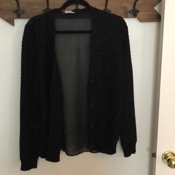 Olive & Oak Sweaters - Olive & Oak Black Cardigan
